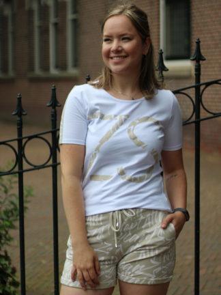 Jenny T-shirt Sand